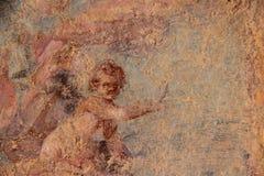 Pompeji-Fresko Stockfoto