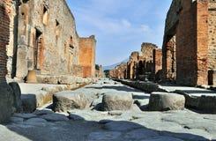 Pompeji-Ruinen Stockfoto