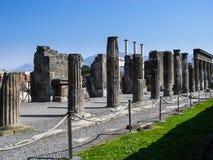 Pompeji-Ruinen lizenzfreie stockfotografie