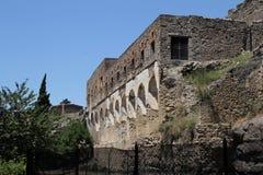 Pompeji-Ruinen Lizenzfreies Stockfoto