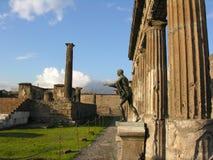 Pompeji und Vesuv, Italien Stockbilder