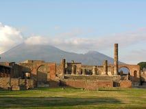 Pompeji und Vesuv, Italien Lizenzfreie Stockfotos