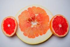 Pompelmo dell'arancia della frutta del pomelo dell'agrume Immagini Stock Libere da Diritti