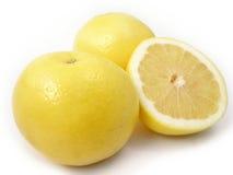 Pompelmo giallo Immagine Stock