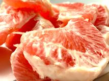 Pompelmo succoso rosso Fotografie Stock Libere da Diritti