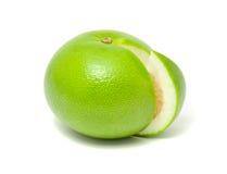 Pompelmo verde (Sweetie del Jaffa) Immagini Stock