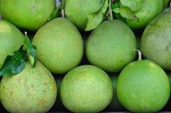 Pompelmoes, fruit van Thailand Royalty-vrije Stock Afbeeldingen