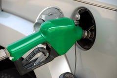 Pompend gas Royalty-vrije Stock Afbeeldingen