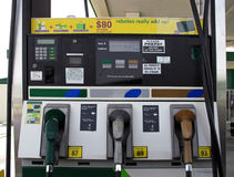 Pompes à gaz Photographie stock