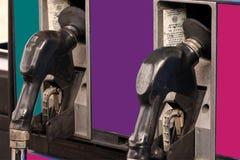 Pompes à gaz Images libres de droits