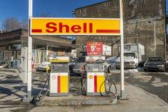 Pompes à gaz de Sheel Image stock