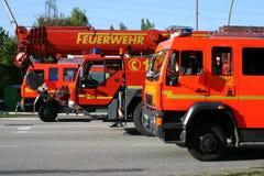 Pompes à incendie Photographie stock libre de droits
