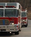 Pompes à incendie Photographie stock