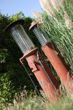Pompes d'essence des années 30 image libre de droits
