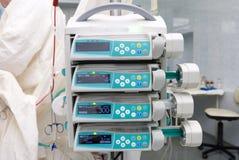 pompes d'infusion Photos libres de droits