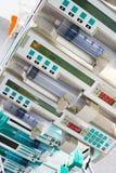 Pompes médicales de seringue Photo libre de droits