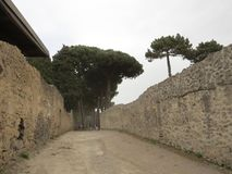 Pompey ou Pompeii Nápoles, Italy Imagens de Stock Royalty Free