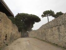 Pompey or Pompeii. Naples, Italy. Royalty Free Stock Images