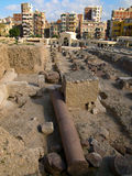 Pompey`s Pillar in Alexandria Royalty Free Stock Images
