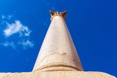 Pompey-` s Säule und alte Sphinx Stockbild