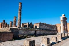 Pompeya, el mejor sitio arqueol?gico preservado del mundo, Italia imágenes de archivo libres de regalías