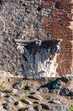 Pompeya, el mejor sitio arqueol?gico preservado del mundo, Italia fotos de archivo libres de regalías