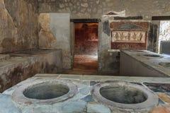 Pompeya, Italia Fotografía de archivo libre de regalías