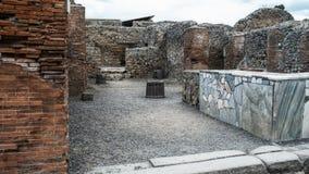 Pompeya Italia Imagen de archivo libre de regalías