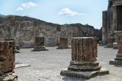 Pompeya Italia Imagen de archivo