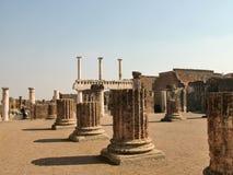 Pompeya, Italia, uno de los lugares en la ciudad Fotografía de archivo libre de regalías