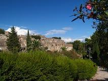 Pompeya, ruinas del volcán Imagen de archivo