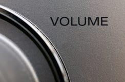 Pompez vers le haut le volume Image stock