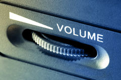Pompi in su il volume immagine stock libera da diritti