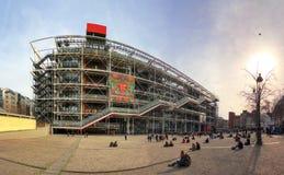 pompidou κεντρικού Georges Στοκ Φωτογραφία