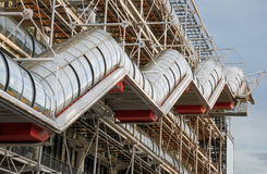 Pompidou. Royalty Free Stock Images