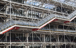 Pompidou Center Royalty Free Stock Image