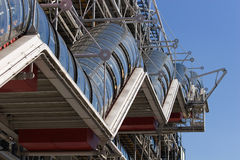 Pompidou center Royalty Free Stock Photos