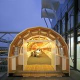 Pompidou center in Paris Stock Image