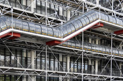 Pompidou center - Paris Stock Photo
