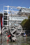 Pompidou centre Royalty Free Stock Images