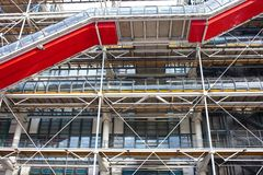 Pompidou centre in France Stock Images