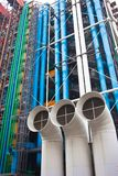 Pompidou centre in France Stock Image