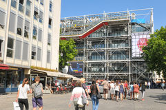 Pompidou Centre in Paris Stock Photography