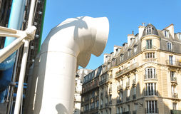 Pompidou Centre in Paris Stock Photography