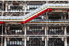 Pompidou centre, Paris Royalty Free Stock Photography