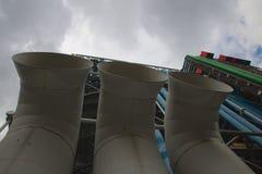 Pompidou Centre Paris Stock Image