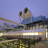 Pompidou centrerar i Paris, Frankrike. Royaltyfri Foto