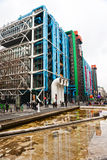 The Pompidou cultural center in Paris, France Royalty Free Stock Images