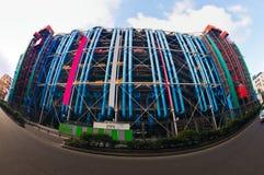 Pompidou kulturalny centrum w Paryż, Francja zdjęcia stock