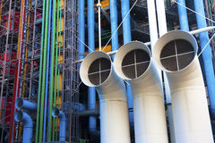 Pompidou museum Stock Photos